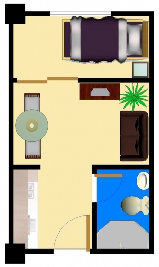 Amazing Single Bedroom House Plans Lcxzz Bedroom Plan Single Images