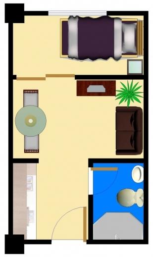 Amazing Single Bedroom House Plans Lcxzz Bedroom Plan Single Images