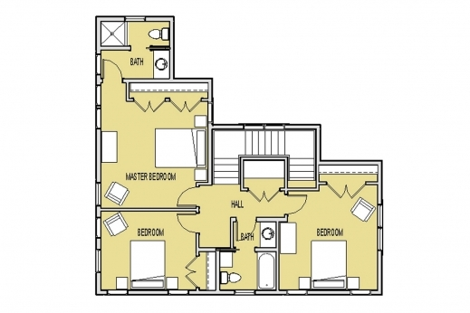 Awesome 3d Small House Floor Plans On 3d Tiny House Plans Download This Small Home Plan Pic