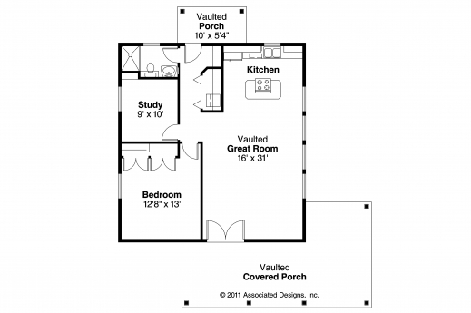 Awesome Bungalow House Plans Kent 30 498 Associated Designs Bungalow Floor Plan With Elevation Images