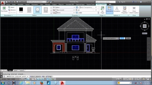 Awesome House Plan In Autocad 2016 Arts Www 2d Home Plan 2016 Images