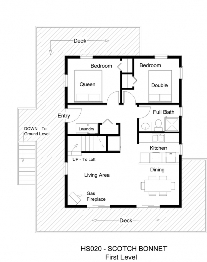 Awesome interior 3 bedroom house floor plans with for Small 3 room house plans