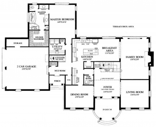 Awesome Keralahousedesigns November 2015 Floor Plan And Elevation 2277 Sq Keralahousedesigns Com/floor Plans And Elevations Photo