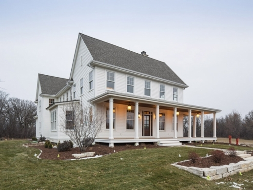 Awesome Modern Farmhouse Plans Farmhouse Open Floor Plan Original Farmhouse Plans With Photos Pic