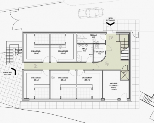 best 1000 sq ft house plan modern luxury house 1000 square feet house plan images - Modern Luxury Home Plans