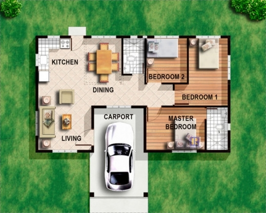 Best 4 Bedroom Bungalow House Plans In Philippines Arts 3