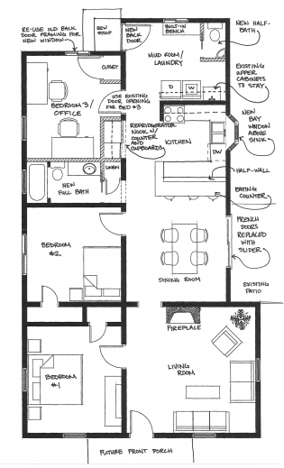 Best Layout For House Plans Arts Show House Plan For 3bedroom House Pic