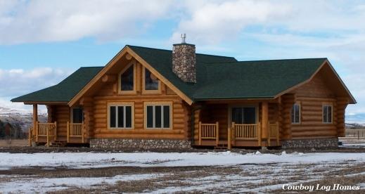 Cowboy log home plans house floor plans for Best log home plans