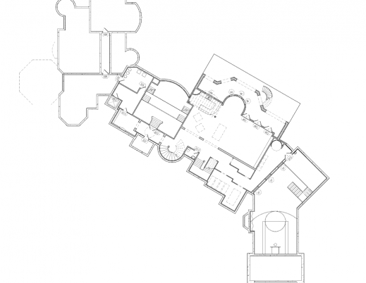 Delightful Floor Plans To The 25000 Square Foot Utah Mega Mansion Homes Of Mega Mansion Floor Plan Photos
