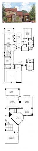Fantastic 1000 Ideas About Tuscan House Plans On Pinterest Florida Homes 3 Bedroom Tuscan Plans Pic