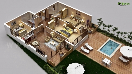 Fantastic 3d Floor Plan Design Interactive Designer Planning For 2d Home 3d Plan Of House Images