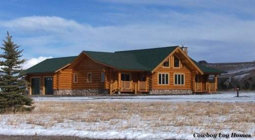 Fantastic Attached Home Floor Plans Slyfelinos Cowboy Log Home Plans Photos