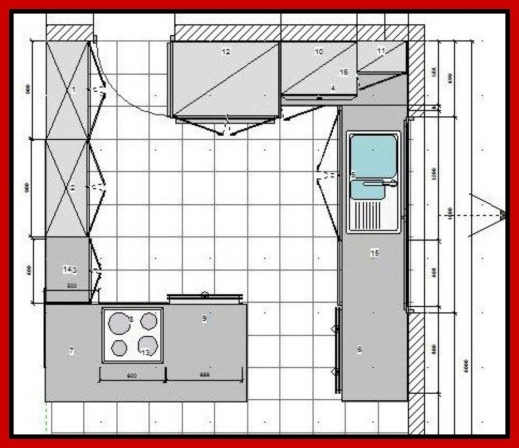 Fantastic Kitchen Floor Plans 1114 Kitchen Design Kitchen Floor Plans Picture