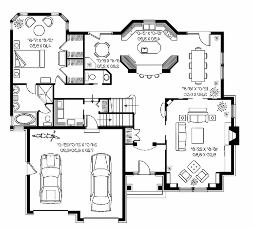 Fantastic Modern House Plan With Basement Archives Wwwpauloricca Modern House Besment Plans 2016 Pic