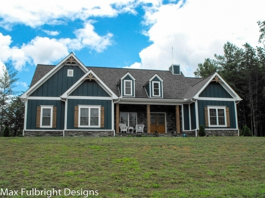 Awesome modern farmhouse plans farmhouse open floor plan for Country craftsman home plans