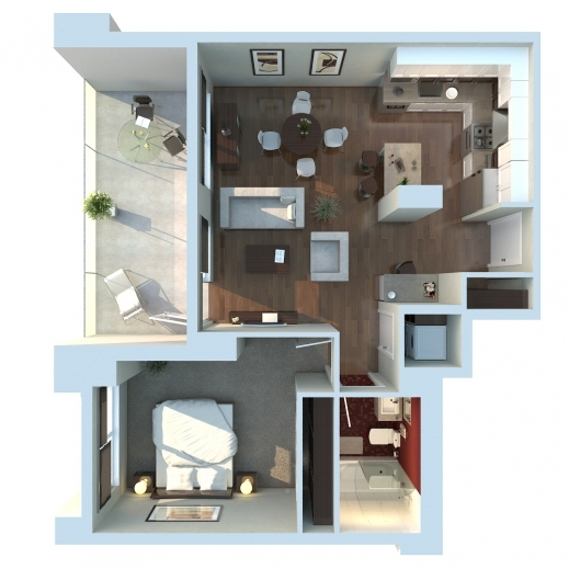 Fascinating 1000 Images About Floor Plan On Pinterest Studios Home And 3d 3D Apartment & House Plan Photos