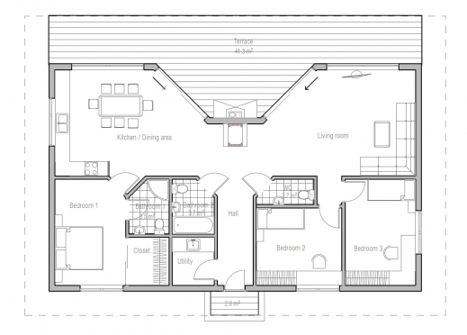 Fascinating amazing n small houses plans tiny house plans for Awesome house blueprints