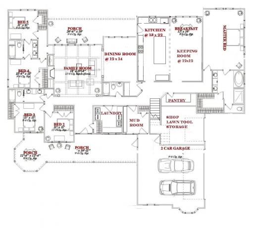 Fascinating One Story 5 Bedroom House Plans On Any Websites 2 Storey 5 Bedroom House Plans Photo