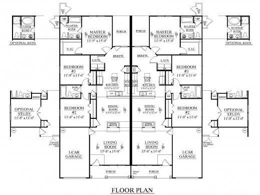 Gorgeous 1000 Ideas About Duplex Floor Plans On Pinterest Duplex Plans Duplex Floor Plan Pictures