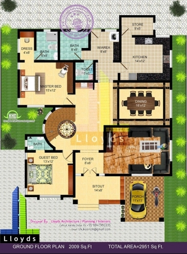 Gorgeous For More Details On This Free Floor Plan And Elevation Contact Bungalow Floor Plan With Elevation Pictures