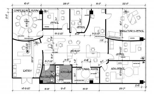 Incredible Autocad 2d House Plan Drawings Arts Www 2d Home Plan 2016 Image
