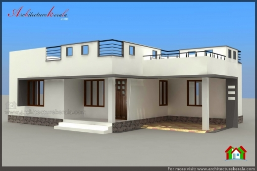 Incredible Below 1000 Square Feet House Plan And Elevation Architecture Kerala 1000 Square Feet House Plan Pictures