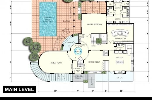 Incredible Residential House Plan Small Lodge Plans Dining Room Floor Plan Residential House Plan Images