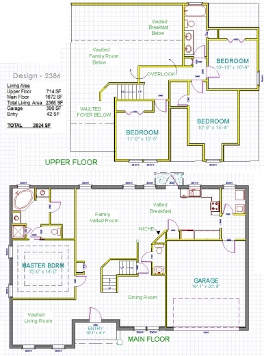 Incredible residential house plan small lodge plans dining for Small residential building plan
