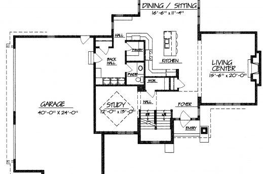 Inspiring 1 2 Story Modern House Plans Arts Two Storey House Plans With 1 Garage Pic