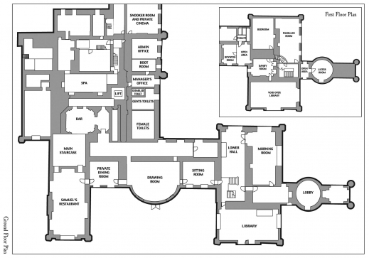 Inspiring castle blueprints and plans sample house floor for Sample house floor plan drawings