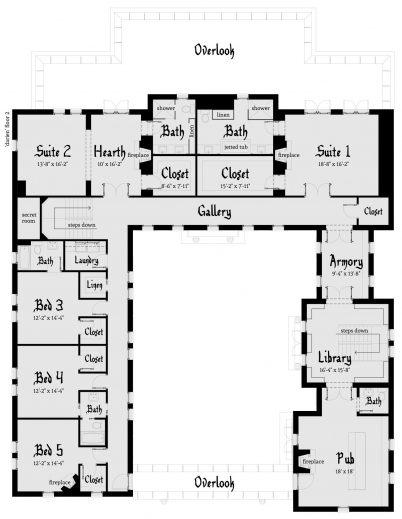 Inspiring Darien Castle Plan Tyree House Plans Floor Plans For A Castle Photo