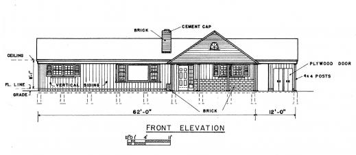 Inspiring free 3 bedroom ranch house plans with carport for House plans with carport in back