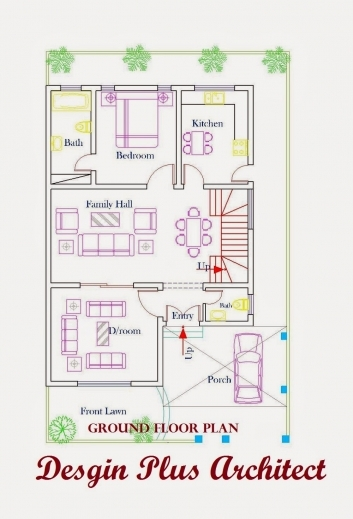 Inspiring Home Plans In Pakistan Home Decor Architect Designer 2d Home Plan 2d House Plans With Designing Photos