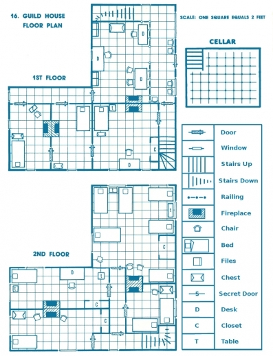 Inspiring Mage Of The Striped Tower B2 Keep On The Borderlands 16 Floor Plan And Its Sections Photo