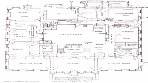 Mega Mansion Floor Plan House Floor Plans