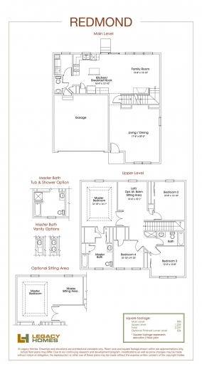 Inspiring Redmond Floor Plan Legacy Homes Omaha And Lincoln Redmond Floorplan Legacy Homes Photos