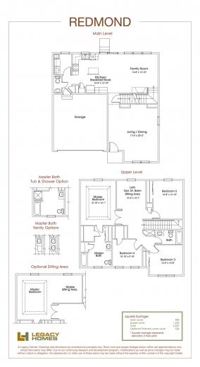Inspiring Redmond Floor Plan Legacy Homes Omaha And Lincoln Redmond Floorplan Legacy Homes Photos