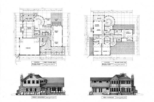 Inspiring Residential House Plans And Elevations At House Plans Designs Ideas Elevation Of A Residential House Floor Plan Picture