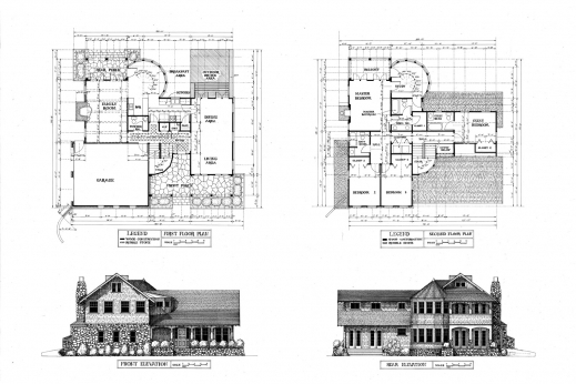 Elevation A Residential House Floor Plan House Floor Plans