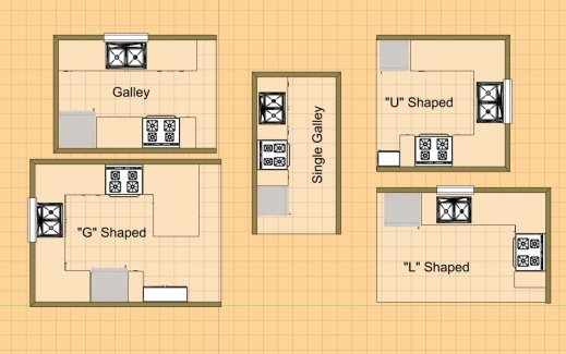 Inspiring Small G Shaped Kitchen Layout For Floor Plans Cozyhomeplanscom G 5 Floor Plans Picture