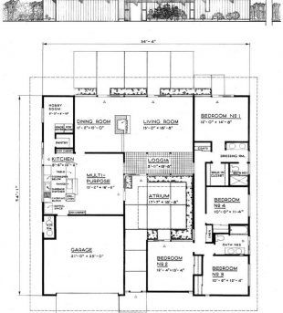 Marvelous 1000 Ideas About Modern Floor Plans On Pinterest Vintage House Floor Plan And Its Sections Pic
