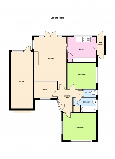 Marvelous 3 Bedroom Bungalow Floor Plans Lcxzz 3 Bed Room Bungalow Floor Plans Images