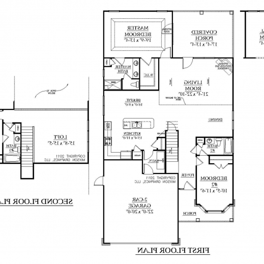 Marvelous floor plans samples with dimensions 2 storey for House blueprint images