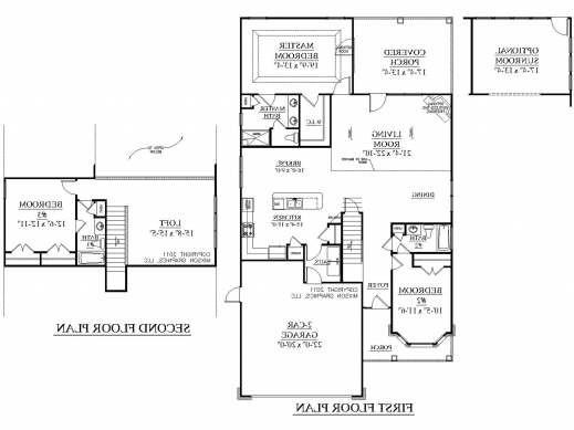 Marvelous Good Simple 2 Story Floor Plans Garage Samples Luxury Two Storey 2 Storey House Floor Plan Samples Photos