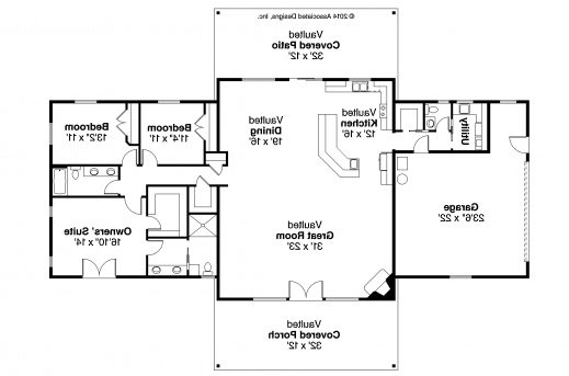 Marvelous Ranch House Plans Anacortes 30 936 Associated Designs Simple Ranch House Plans 3 Bedroom Pictures