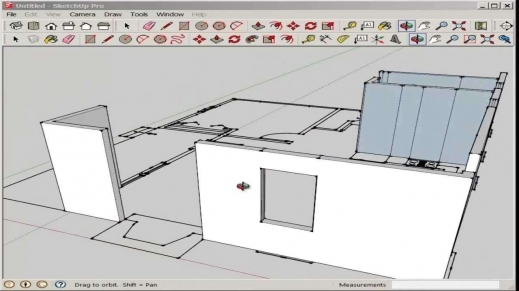 Marvelous Sketchup Import And Model An Autocad Floor Plan Youtube Make Youtube Floor Plan Photo