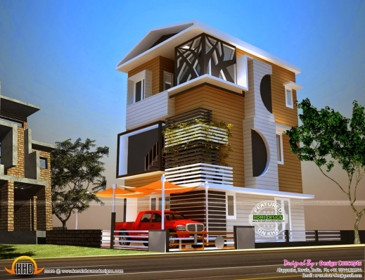 Outstanding 2 cents house plan kerala home design and for Kerala home style 3 bedroom