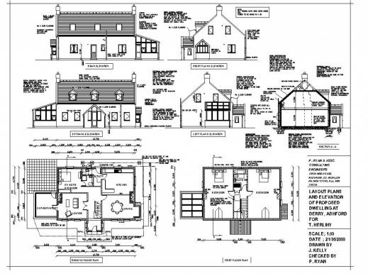 Outstanding 2d home design plan drawing glamorous drawing House cad drawings