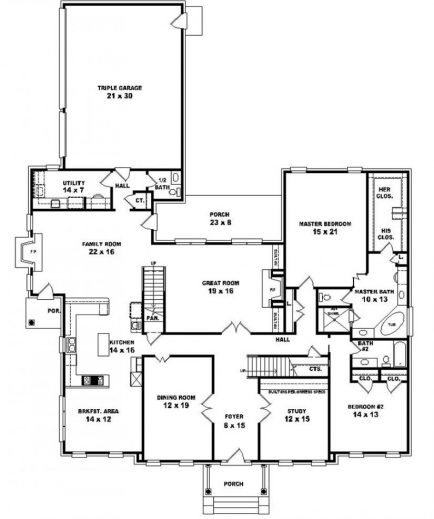 bedroom 1 2 bath house plans arts 2 storey 5 bedroom house plans pic