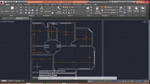 Outstanding Autocad 2016 Floor Plan Drawing Youtube Www 2d Home Plan 2016 Photos
